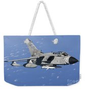 An Italian Air Force Tornado Ids Armed Weekender Tote Bag