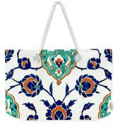 An Iznik Polychrome Tile, Turkey, Circa 1575, By Adam Asar, No 23h Weekender Tote Bag
