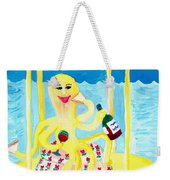 An Octopus Summerhouse Weekender Tote Bag