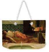 An Odalisque In A Harem Weekender Tote Bag by Benjamin Constant