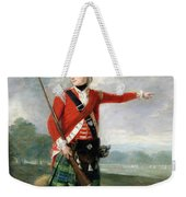 An Officer Of The Light Company Of The 73rd Highlanders Weekender Tote Bag
