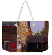 An Old Barn And Silo Weekender Tote Bag