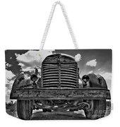 An Old International Truck Weekender Tote Bag