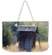An Old Outhouse  Weekender Tote Bag