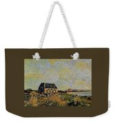 An Old Scottish Cottage Overlooking A Loch  L A S Weekender Tote Bag