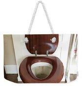 An Old Toilet Weekender Tote Bag