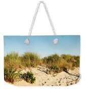 An Opening In The Fence - Jersey Shore Weekender Tote Bag