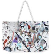 An Uncertain Progression Weekender Tote Bag