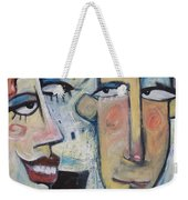 An Uncomfortable Attraction Weekender Tote Bag