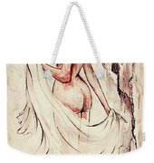 An Unexpected Visit Weekender Tote Bag