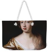 An Unknown Young Lady Weekender Tote Bag