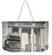 Analog Black And White Photography - Milan - Porta Ticinese Weekender Tote Bag