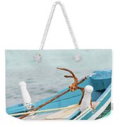 Anchor On A Boat In Maldives Weekender Tote Bag