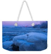 Anchorage Icebergs Weekender Tote Bag