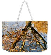 Anchorage In Autumn Weekender Tote Bag