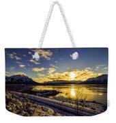 Anchorage Sunrise Weekender Tote Bag