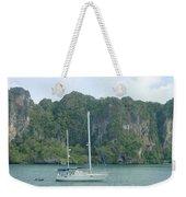 Anchored In Paradise Weekender Tote Bag