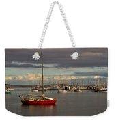 Anchored Weekender Tote Bag