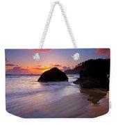 Anchoring The Beach Weekender Tote Bag