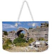Ancient Bergama Acropolis Ruins Weekender Tote Bag
