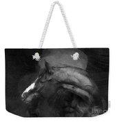 Ancient Black Horse No 1 Weekender Tote Bag