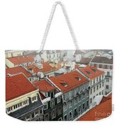 Ancient Buildings At Lisbon. Portugal Weekender Tote Bag