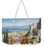 Ancient Corinth Weekender Tote Bag