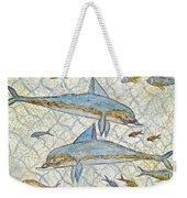 Ancient Greek Dolphins Weekender Tote Bag