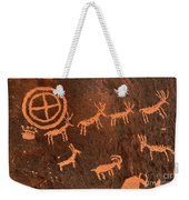 Ancient Indian Petroglyphs Weekender Tote Bag