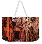 Ancient Italian Village Weekender Tote Bag