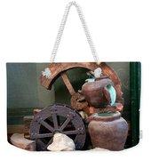 Model Of Ancient Water Mill In Greece  Weekender Tote Bag