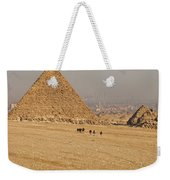 Ancient Of Times - Modern Of Times Weekender Tote Bag