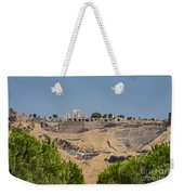 Ancient Pergamon Acropolis Weekender Tote Bag