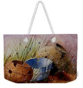 Ancient Relics A Paint Along With Jerry Yarnell' Study. Weekender Tote Bag