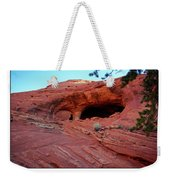 Ancient Ruins Mystery Valley Colorado Plateau Arizona 01 Text Weekender Tote Bag