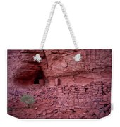 Ancient Ruins Mystery Valley Colorado Plateau Arizona 02 Text Weekender Tote Bag