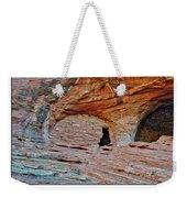 Ancient Ruins Mystery Valley Colorado Plateau Arizona 05 Text Weekender Tote Bag