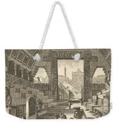 Ancient School Built According To The Egyptian And Greek Manners Weekender Tote Bag