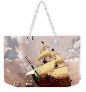 Ancient Ships Weekender Tote Bag