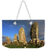 Ancient Stone Alignment Weekender Tote Bag