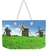 Ancient Windmills In Field Weekender Tote Bag