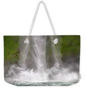 And Down Comes The Water Weekender Tote Bag