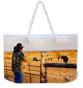 And God Made A Rancher Weekender Tote Bag