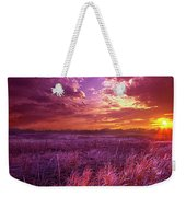 And I Dreamt Of Waking Weekender Tote Bag