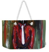 And If The Cloud Bursts... Weekender Tote Bag