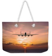 And In The Morning Weekender Tote Bag