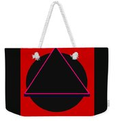 And It Flowed Weekender Tote Bag
