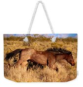 And She Was Running Weekender Tote Bag