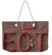 And So Forth Weekender Tote Bag
