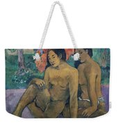 And The Gold Of Their Bodies Weekender Tote Bag by Paul Gauguin